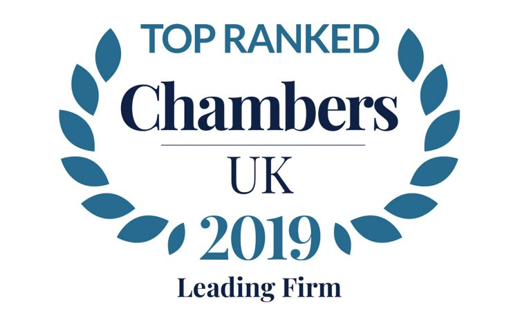 Stewarts Top Ranked Leading Law Firm Chambers 2019 752x0 c default